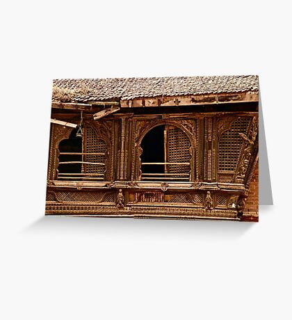 Ancient Architectural Elements Greeting Card