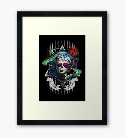 Music is Classic Framed Print