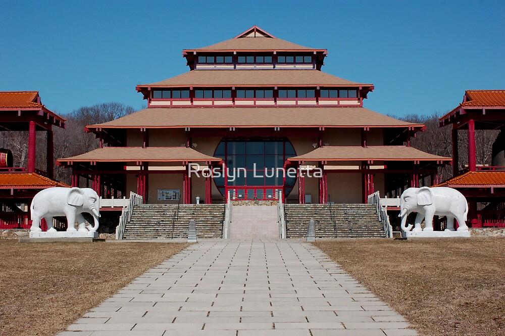 Great Buddha Hall by Roslyn Lunetta