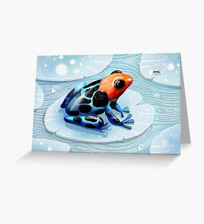 Poison Dart Frog  Greeting Card