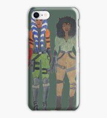 ahsoka tano and kaeden larte iPhone Case/Skin