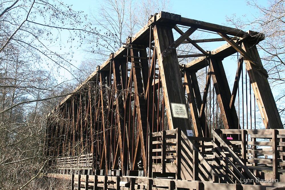 Old Railroad Trestle by Lynn Bawden