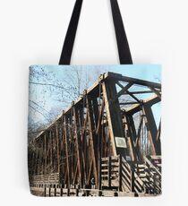 Old Railroad Trestle Tote Bag