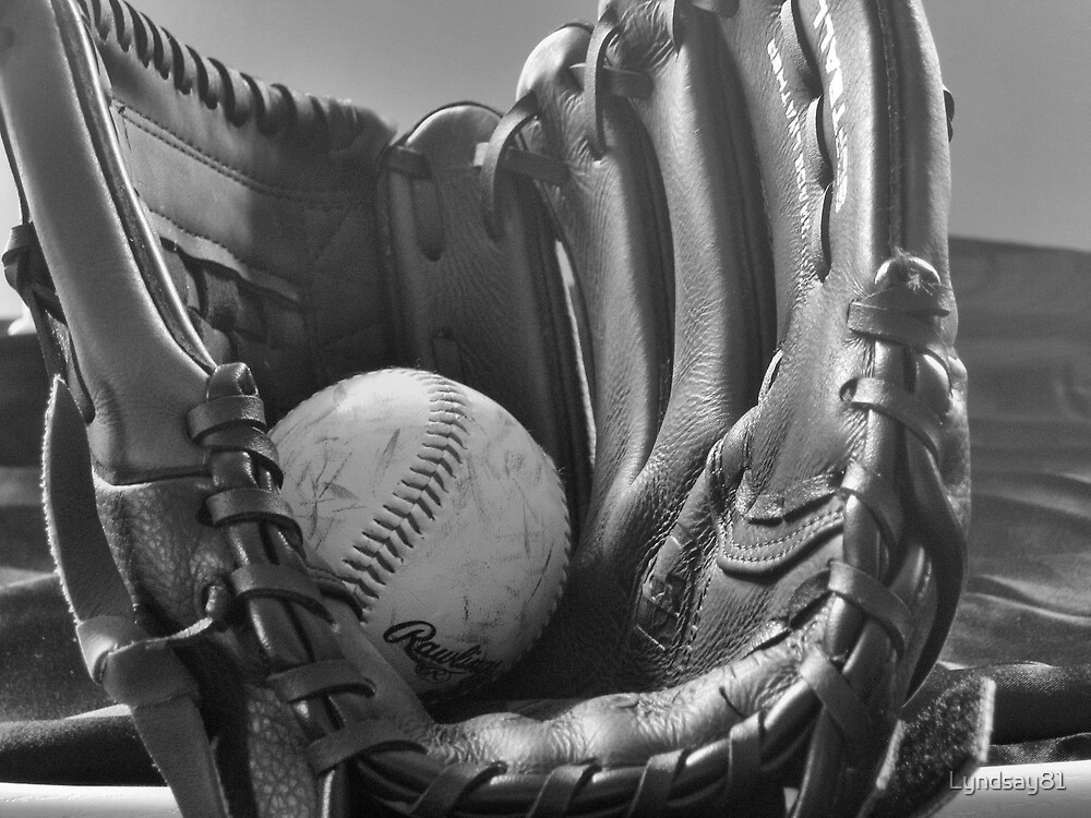Ball and Glove by Lyndsay81