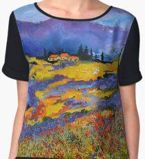 Provence 8871602 Chiffon Top
