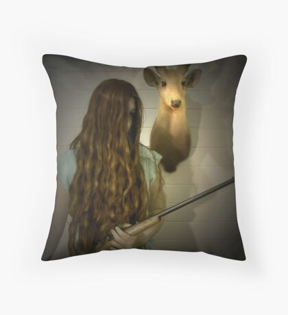 Another Country Throw Pillow