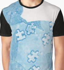 Puzzled Nature  Graphic T-Shirt