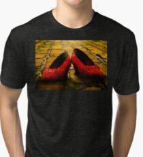 Good Bye , Yellow Brick Road Tri-blend T-Shirt