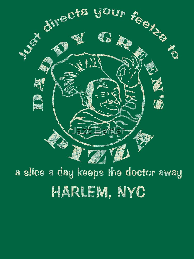 daddy green s pizza the last dragon unisex t shirt by