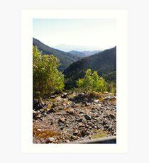 Mountain Veiw Art Print