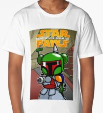 Star Paws - Bobear Fett Long T-Shirt