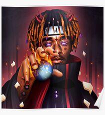 Lil Uzi Vert / Lucifer / Pain / Naruto Poster