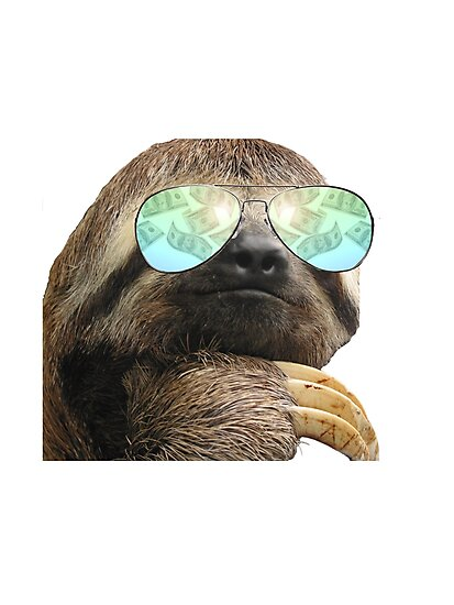 bling sloth photographic prints by crtjer redbubble