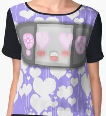 Kawaii Video Game Controller Chiffon Top