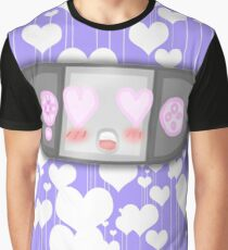 Kawaii Video Game Controller Graphic T-Shirt