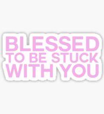 BLESSED Sticker