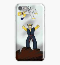 The best fights are personal. iPhone Case/Skin