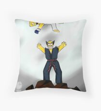 The best fights are personal. Throw Pillow