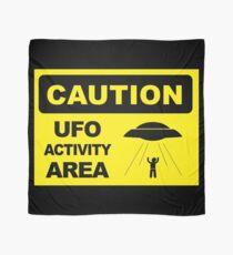 Pañuelo Advertencia, área de actividad UFO, pegatina