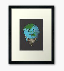 Melting Point Framed Print