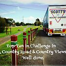 Banner - Mount Gambier Truck parked in Cobden  by EdsMum