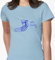 'Allo Sailor x' Womens Fitted T-Shirt
