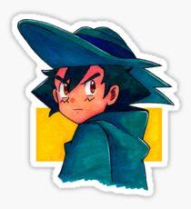 Ash (Movie 8) Sticker