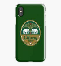 chang beer Merchandise iPhone Case/Skin