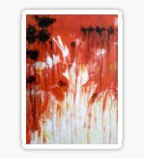 Wildfire Poppy Sticker