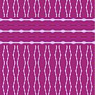 Beautiful Rich And Bright Plum Design by Joy Watson