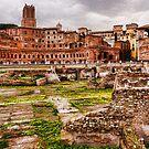 Trajan's Market and Forum - Impressions Of Rome by Georgia Mizuleva