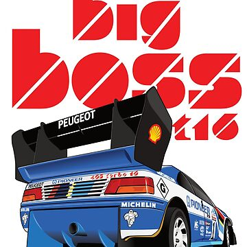 Big Boss Peugeot T16 by 8800ag