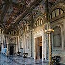 The Opulent Loggia in Villa Farnesina, Rome, Italy - Take Two by Georgia Mizuleva