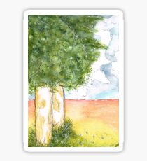 Outback Gumtrees Sticker