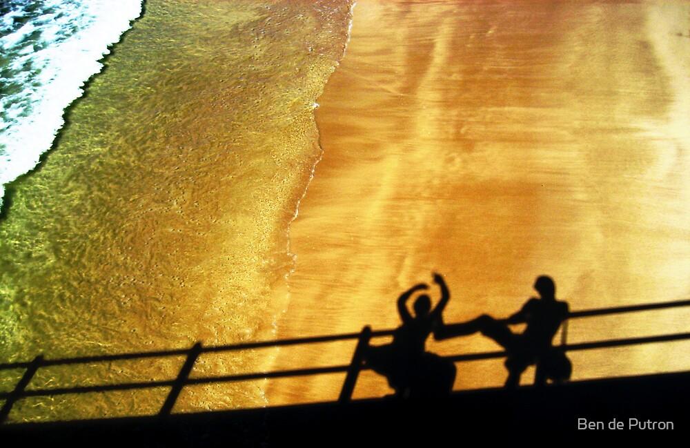 Shadow Fighting by Ben de Putron