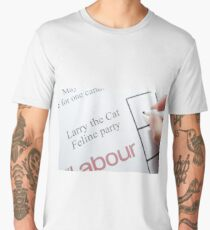 UK elections Vote Larry the Cat Men's Premium T-Shirt