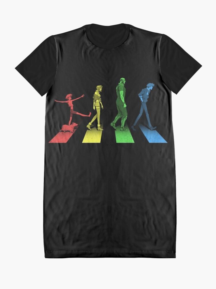 Alternative Ansicht von Stray Dog Strut T-Shirt Kleid