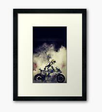 valentino rossi best wallpaper Framed Print