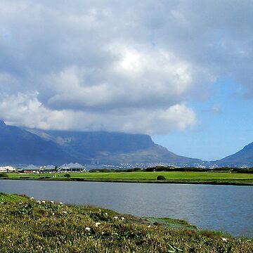 Table Mountain View by HippyDi