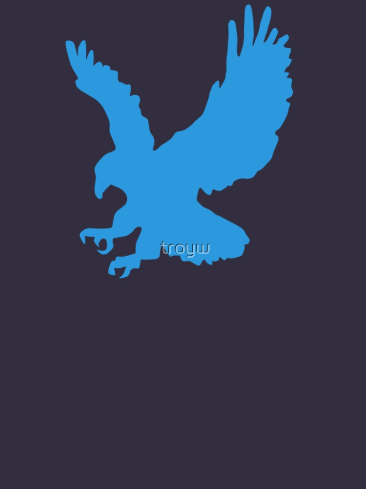 Blue Eagle - Cool T-Shirt Design by troyw
