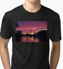 Of Yachts and Skylines Tri-blend T-Shirt