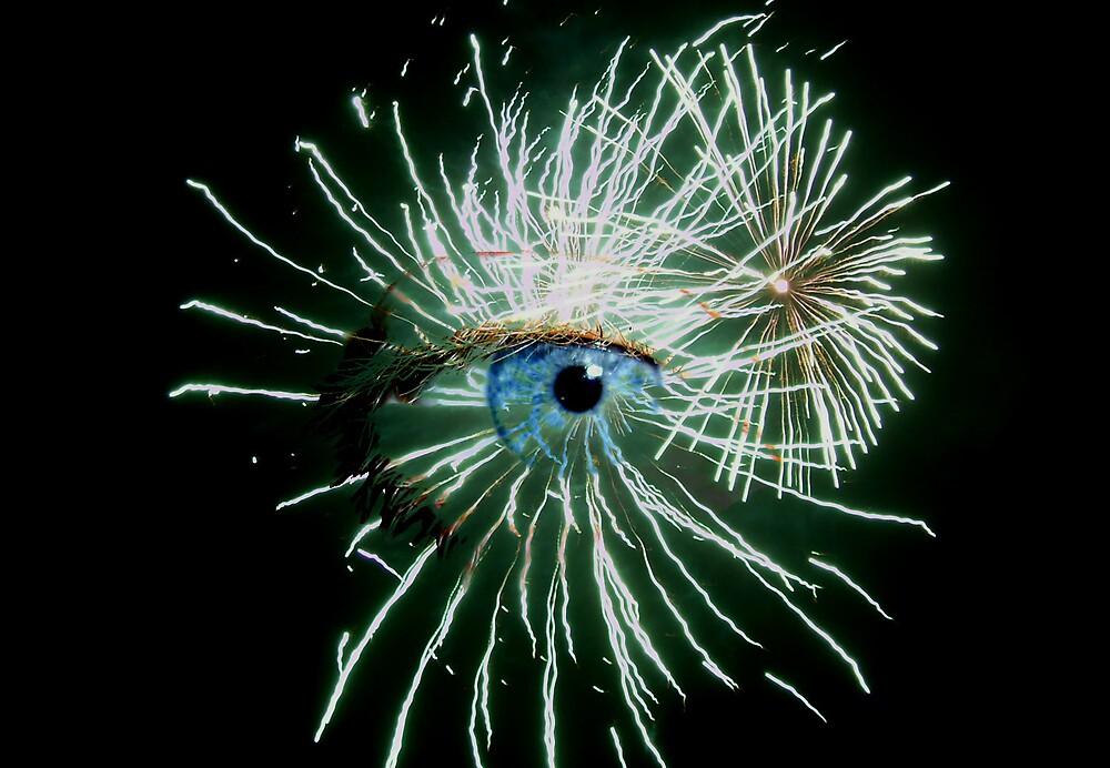 Sparkly Eye 1 by Yvonne Carsley