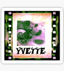 Yvette - personalize your gift Sticker