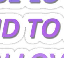 18 lyrics Sticker
