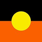 Aboriginal Flag by Dave  Knowles