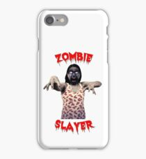 Zombie Slayer iPhone Case/Skin