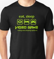 Eat Sleep Video Game T-Shirt