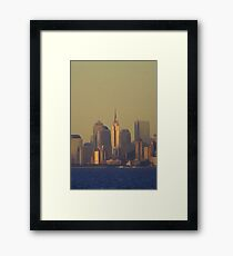 Hot in the City Framed Print