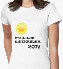 Magaluf logo Women's Fitted T-Shirt