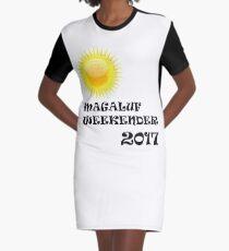 Magaluf logo Graphic T-Shirt Dress